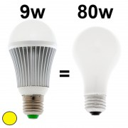 Ampoule LED dimmable 9W 3200k