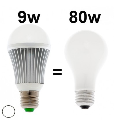 Ampoule LED dimmable 9W 7000k