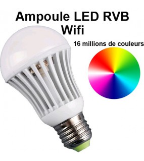 Ampoule LED wifi RGB