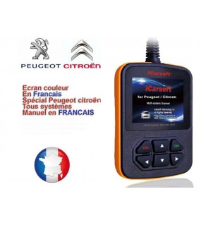 i970 Diagnostic Peugeot Citroën iCarsoft ®